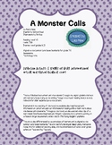 A Monster Calls 5 Stages of Grief Extension Activity