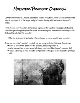 A Monster Calls - Final Project