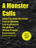 A Monster Calls--Guided Reading Questions, Critical Thinki