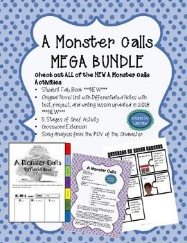 A Monster Calls ***MEGA BUNDLE***