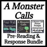 A Monster Calls Pre-Reading and Response Bundle