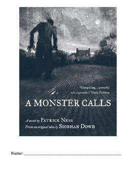 A Monster Calls Packet, Test, Quiz