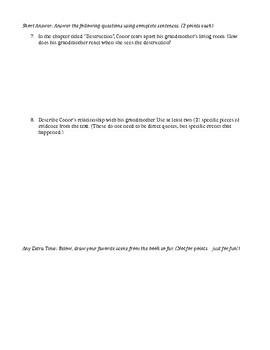 A Monster Calls Quiz Chp. 1-17