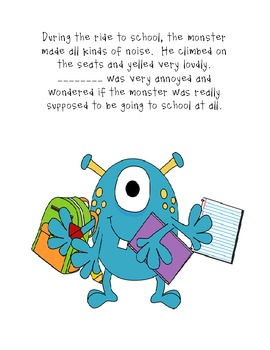 "A Monster in The Classroom - A ""Teaching Behaviors"" Book!"