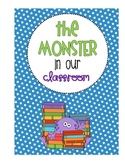 "A Monster in The Classroom - A ""Teaching Behaviors"" Book!"
