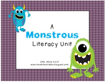 A Monster Literacy Unit