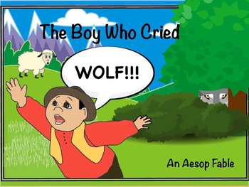 A Month of Activities for The Boy Who Cried Wolf