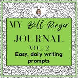 A Month of Bell Ringers Vol. 2 CCSS