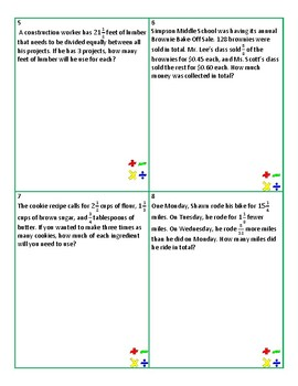 A Month of Fraction Word Problems