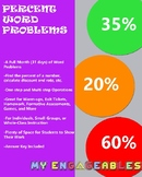 A Month of Percent Word Problems
