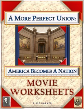 A More Perfect Union Movie Worksheets -- Over 100 Questions!