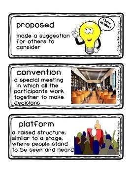 A More Perfect Union Readygen Vocabulary Grade 3