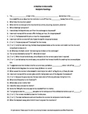A Mother in Mannville M. Rawlings Guided Reading Worksheet Crossword Wordsearch