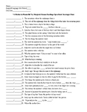 A Mother in Mannville by Marjorie Kinnan Rawlings Scavenger Hunt and KEY