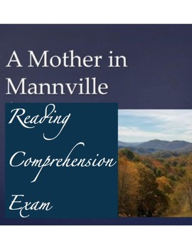 A Mother in Manville Multiple Choice Quiz w/ Answer Key (40 Ques.)