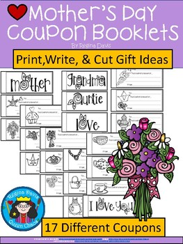 08e044e1c2a2 A+ Mother s Day Coupons  Booklets by Regina Davis