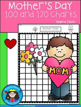 A+ Mother's Day: Numbers 100 and 120 Chart