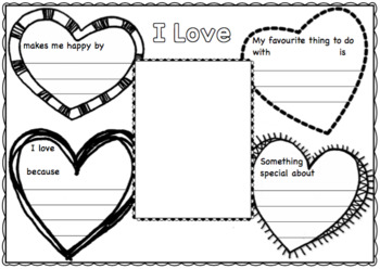 A Mother's Day Writing Activity for Kindergarten and Year 1.