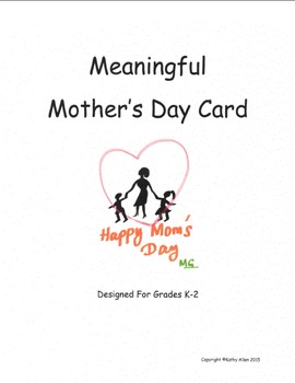 A Mothers Day Card