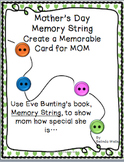 A Mother's Day Memory String...A Creative Card