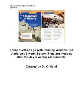 A Mountain of History/A Landmark Street