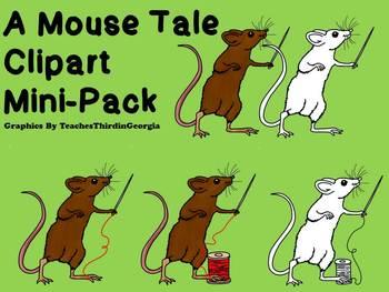 A Mouse Tale-Clip Art Mini Pack