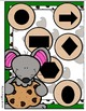 A Mouse and a Cookie Shapes File Folder Game