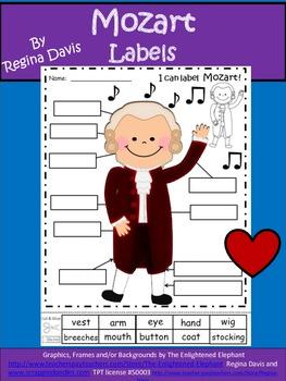 A+ Mozart Labels