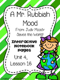 A Mr. Rubbish Mood (Interactive Notebook Pages)