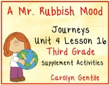A Mr. Rubbish Mood Journeys Unit 4 Lesson 16 Third Grade Supp. Act.