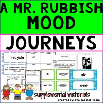 A Mr. Rubbish Mood Journeys 3rd Grade Unit 4 Lesson 16 Activities & Printables