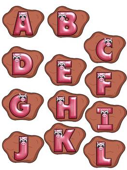 A+ Muddy Pig Letters and CVC Words