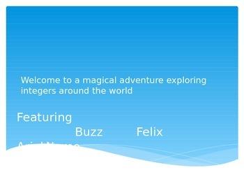 A Multimedia Experience Exploring Integers PPT