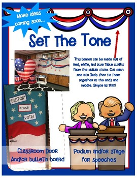 A Math Multiplication Election 2016 - Common Core Aligned