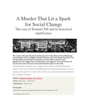 A Murder That Lit a Spark For Social Change