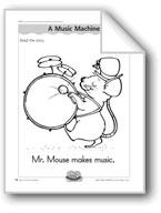 A Music Machine (letter/sound association for 'm')