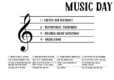 A Music Plan: Music Day Poster