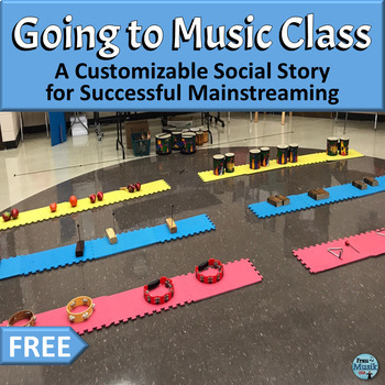 Going to Music, A Social Story for Successful Mainstreaming, by FrauMusik