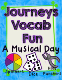 A Musical Day  Journeys First Grade Unit 2 Lesson 8 Vocabulary