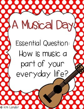 A Musical Day Lesson Plans and Supplemental Materials