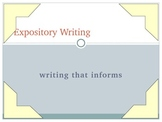 A Must-Have on Expository Writing