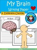 A+ My Brain ... Writing Paper