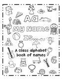 A My Name Is... An alphabet book of class names