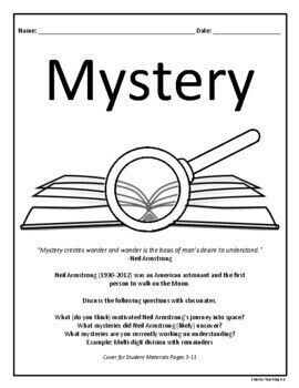 Mystery Mini-Course: Book Study And Book Report