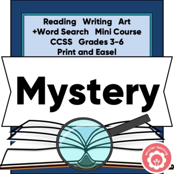Mystery Book Study AND Book Report