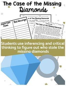 A Mystery Game - The Case of the Missing Diamonds - Critical Thinking