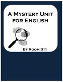 A Mystery Unit for English