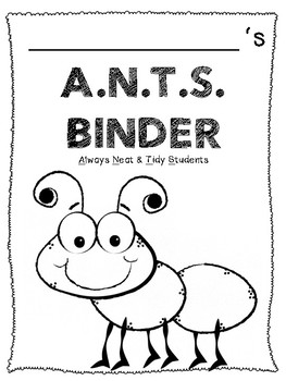 A.N.T.S. Binder Cover