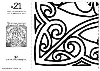 A N Z A C Collaborative Poster - Integrating Te Reo Māori