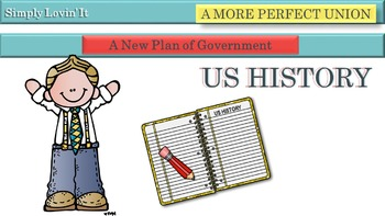 A NEW PLAN OF GOVERNMENT BUNDLE